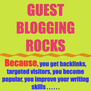 Become a guest blogger on MoreTricks.com